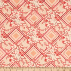 Michael Miller Strawberry Moon Picket Fences Strawberry from @fabricdotcom  Designed by Sandi Henderson for Michael Miller Fabrics, this cotton print collection features gorgeous saturated prints that are perfect for quilting, apparel, and home decor accents. Colors include shades of pink and cream.