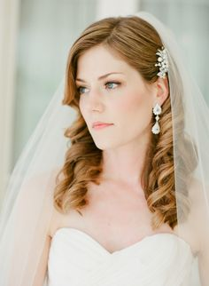 #makeup, #hairstyles  Photography: Taylor Lord - www.taylorlord.com  Read More: http://www.stylemepretty.com/2014/06/03/timeless-austin-wedding-at-chateau-bellevue/