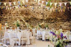 New House Farm | Maggie Sottero Shayla Wedding Dress | Rustic Wedding | DIY Decor | Wild Flowers | Sarah Beth Photo | http://www.rockmywedding.co.uk/victoria-michael/
