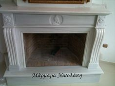 Fireplaces Greek Dionyssos Marble. Contact: sales@marmara.gr Marble, Greek, Fireplaces, Home Decor, Fireplace Set, Fire Places, Decoration Home, Room Decor, Granite