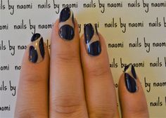 Check out the full length video tutorial for these nails on my YouTube channel here! And check out the speedtorial here. After cleaning, filing, and shaping the nails and applying a base coat: 1. use a striping brush and any color polish (try to pick...