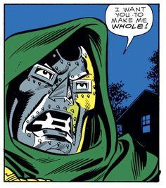 Doctor Doom in Greatest Album Covers, Great Albums, Good Doctor, Fantastic Four, Arte Pop, Joker, Comic Books, Marvel, Hero