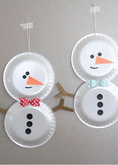 We Share 30 Creative And Easy Christmas Crafts For Kids To Make on Craft Holiday Crafts For Kids Kids Crafts, Paper Plate Crafts For Kids, Christmas Crafts For Kids To Make, Foam Crafts, Creative Crafts, Simple Christmas, Christmas Diy, Craft Foam, Christmas Decorations