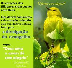 Momento Versículos: OFERTAS - Não é o objeto do sacrifício que dá a su...