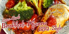 Brokkoli-Pfanne BBQ-Style mit Kirschtomaten & Hähnchenbrust - Schnell, praktisch, lecker! Dieses Low-Carb Pfannengericht Rezept wird dich begeistern.
