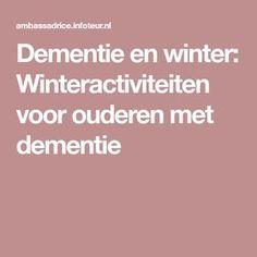 Alzheimers, Dementia, Abs, Winter, School, Nostalgia, Winter Time, Crunches, Abdominal Muscles