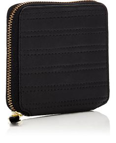 f25e9ccbc037 Comme des Garçons Channel-Stitched Zip-Around Wallet - Small Leather -  502438679