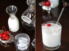 cherry and amaretto cream cocktail