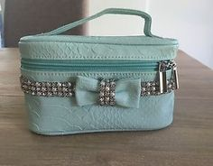 Mint (Green/ Blue) Makeup/ Jewellery Bag - Forever New in Health & Beauty, Makeup, Makeup Bags & Cases   eBay