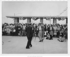 Paseo Bridge Dedication - August 13, 1954  --- Photographs from our Missouri Valley Special Collections