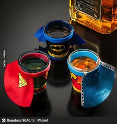 Adult Superhero themed party except with hennessy....obviously...>.