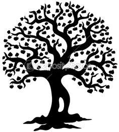 Tree art idea