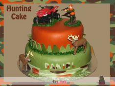 Image detail for -Fanci Cakes & More: Hunting Birthday Cake