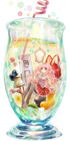 超高清大图二次元壁纸啊亲_来自Amaya_的图片分享 (My House is a Drinking Glass sounds like a great title for an anime XD)