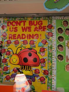 """Don't """"bug"""" us we are reading."""