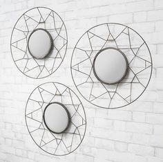 Gallery Direct Tripoli Mirror (Set of 3)