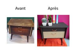 Mes cr ations on pinterest mini albums scrap and album for Recuperation de vieux meubles