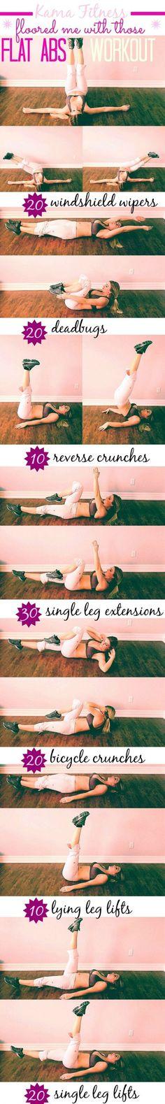 Kama Fitness Flat Abs Workout