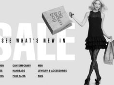 Bloomingdales-Sale-Section! Oh my!  YES!!