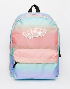 Vans+Backpack+in+Pastel+Ombre+Stripe