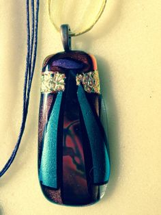 Glass Scarab Beetle pendant by LAMOREBOHEME on Etsy, $55.00 REDUCED to $40