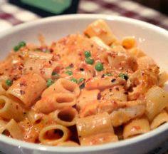 Buca di Beppo at Home: Spicy Chicken Rigatoni Recipe