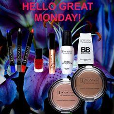 Great Monday with Tavana Cosmetics.