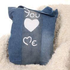Walentynkowa torba na zakupy