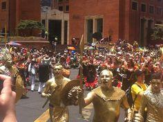 Comparsa alusiva al #CarnavalDeBarranquilla Bogota  capital de la cultura