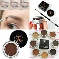 WATERPROOF WOMEN MAKEUP COSMETICS DIPBROW DARK MEDIUM BROWN EYEBROW POWDER 4G
