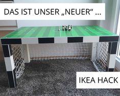 16 ingenious Ikea hacks that make every nursery more beautiful and comfortable - Kinderzimmer - Kinderzimmer Ideen Ikea Hacks, Ikea Lack Hack, Ikea Hack Kids, Ikea Desk, Hobby Room, Ping Pong Table, Kidsroom, Kids Bedroom, Sweet Home