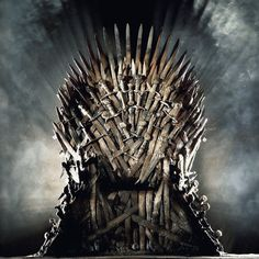 Forged from a thousand enemy swords in the fiery breath of the dragon Balerion the Black Dread, the Iron Throne is the darkly imposing seat of power in