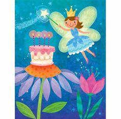 Gift Enclosures -b/fairy cake - Bobangles #PeaceableKingdom #fairy #card #kids