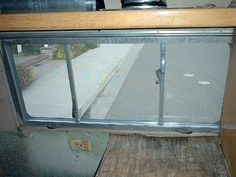 1955 rear escape hatch style window
