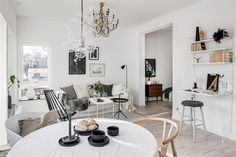 This apartment might be small in size, but it's big on style