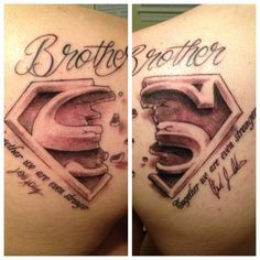 brother n sister matching tattoos - Google Search