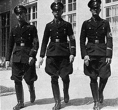 A representation of the Gestapo