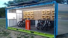 Image result for shipping container bike