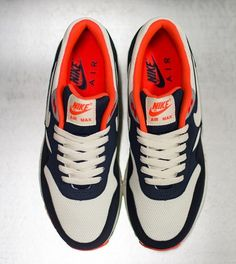 0c2aeb48d19e Nike Sportswear has just released a brand new Nike Air Max 1 Essential  colorway. Featuring a combination of Obsidian and Squadron Blue along the  upper with ...