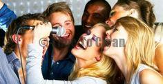 Home karaoke with friends