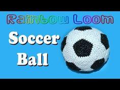 Rainbow Loom Soccer Ball - Part 2 of 2 - YouTube