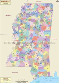 Buy Texas Zip Code Map from On | US Maps | Pinterest | Zip code map ...