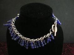 Blue Polymer Bracelet