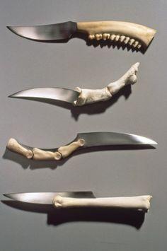 Mielle Harvey: Bone Knives, ca. 1993