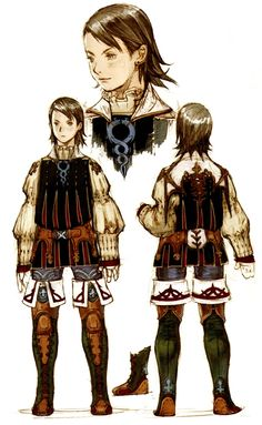 Week 12 - Final Fantasy XII - Concept Art Mon - Larsa Concept