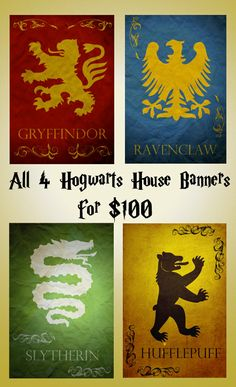 Harry Potter movie poster movie art film print harry by Harshness, $100.00
