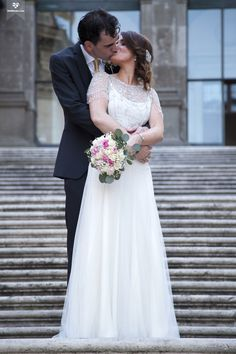 A stunning bride and groom shot captured by D.A.M.Studio http://www.damstudio.com
