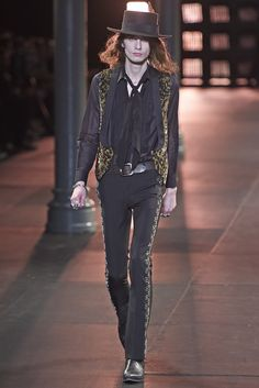 Saint Laurent Men's RTW Spring 2015