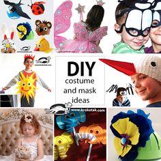 DIY carnival masks and costumes