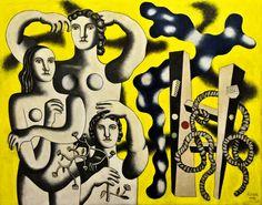 Fernand Leger - Composition aux trois figures, 1932 at Centre Pompidou Paris France